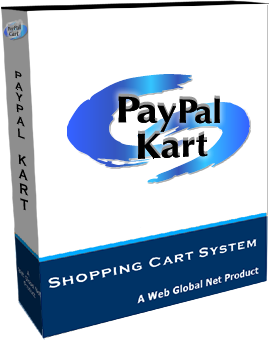 Web Global Net PayPal-Cart Shopping Cart System